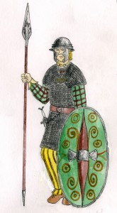 Celtic Warrior during Roman Times