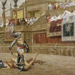 Gladiators in the Arena in Ancient Rome