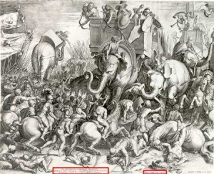 The Battle of Zama, 202 B.C.